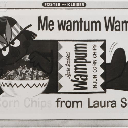 Me wantum Wampum! Injun Corn Chips from Laura Scudder